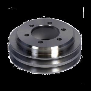 V belt aluminum roller pulley