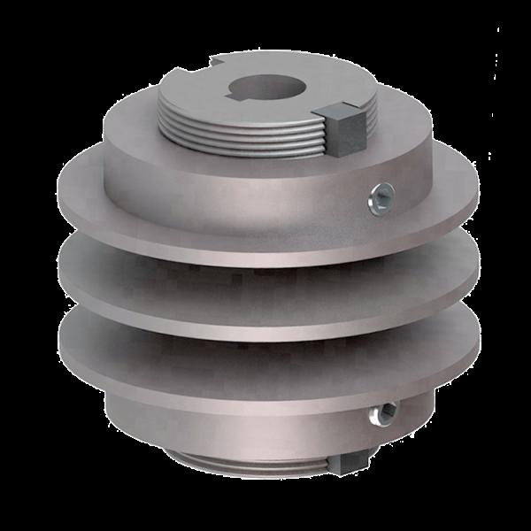 Variable speed drive v belt pulleys